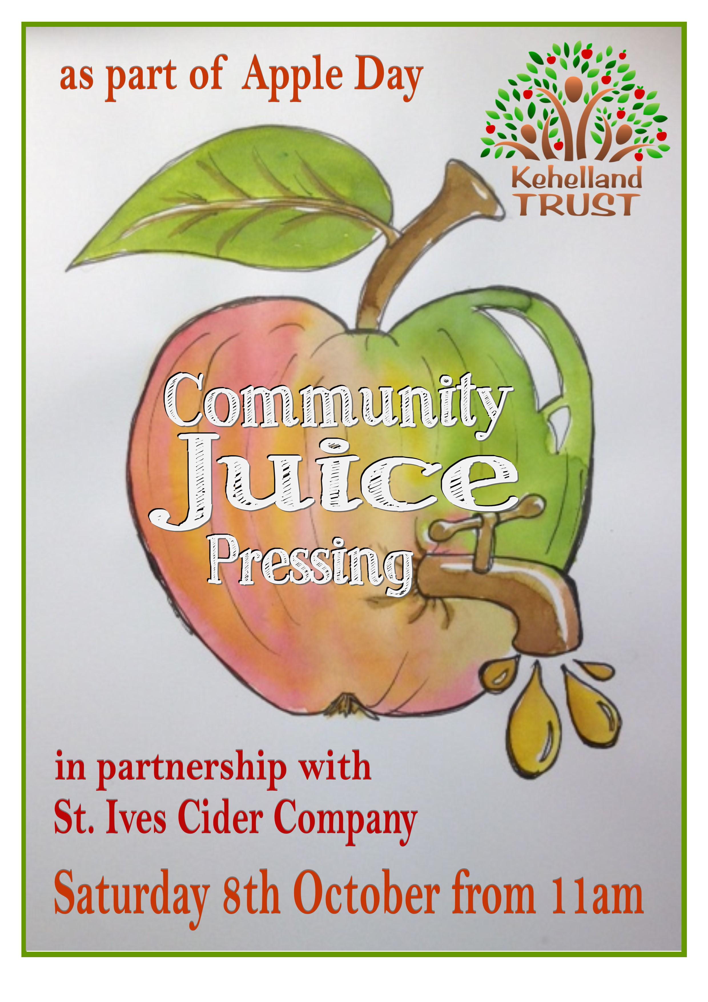 Community Juice Press @ Kehelland Apple Day