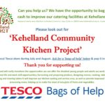 COMMUNITY: Every little will help Kehelland in July & August at Camborne Tesco!